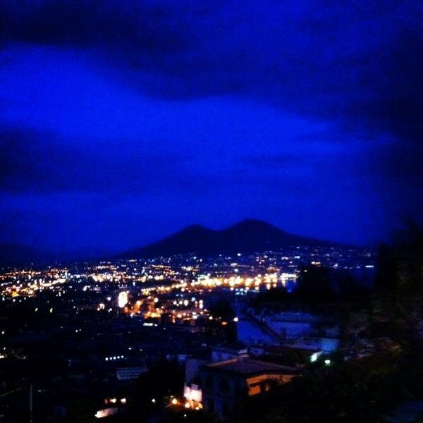 Panorama sul Golfo di Napoli straordinario