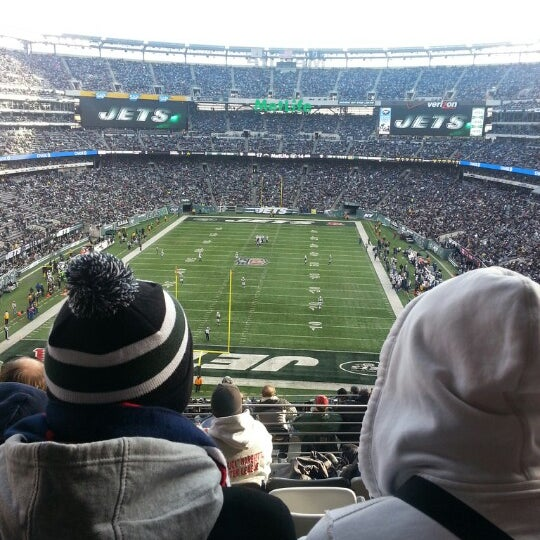 Photo taken at MetLife Stadium by Tyson G. on 12/23/2012