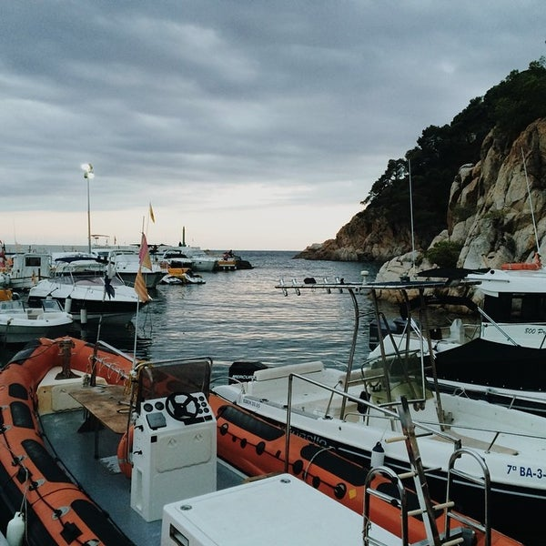 Photo taken at Cala Canyelles by Maria S. on 8/16/2014