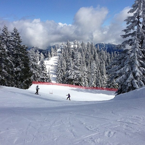 Photo taken at Cypress Mountain Ski Area by Jenn C. on 3/17/2013