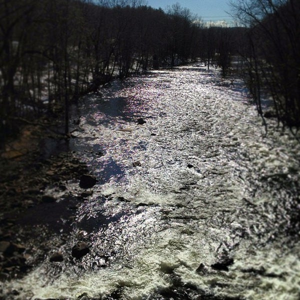 Photo taken at Croton Gorge Park by Ricky F. on 2/21/2013