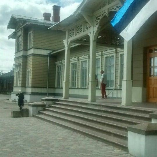 Photo taken at Tartu Raudteejaam by Ain A. on 6/23/2016