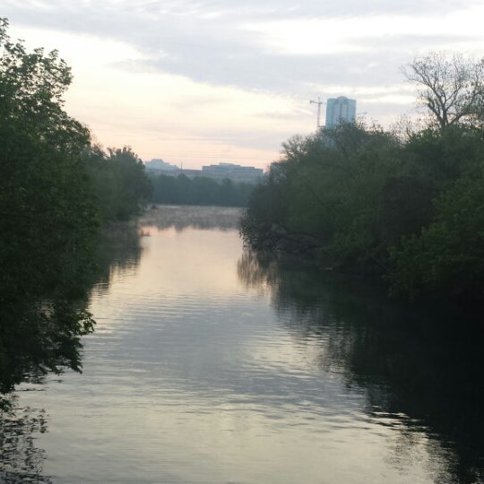 Photo taken at Lady Bird Lake Trail by David A. on 4/19/2014