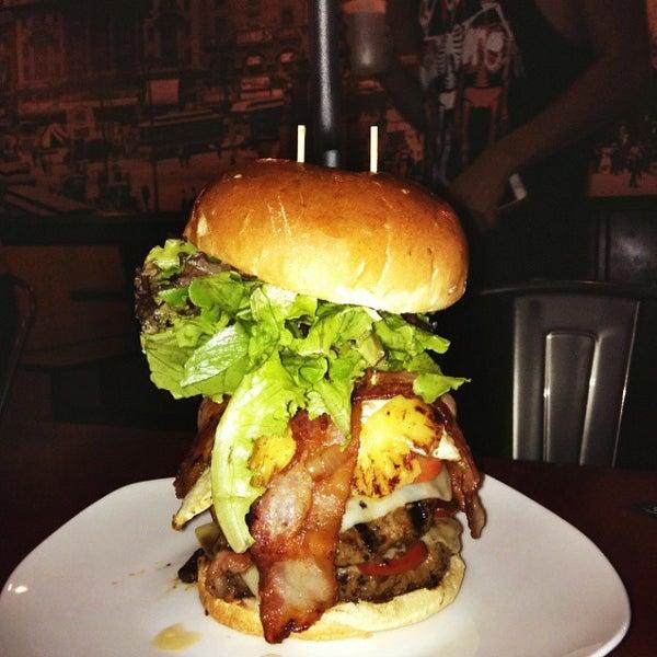 Photo taken at G Burger by Annie on 10/31/2014