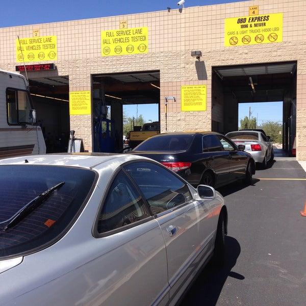 Adeq Vehicle Emissions Testing Station Phoenix Az