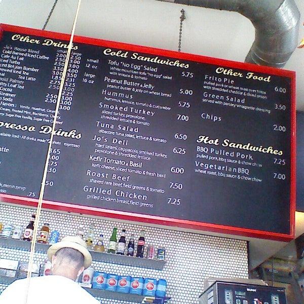 Photo taken at Jo's Coffee by John E. on 4/14/2013