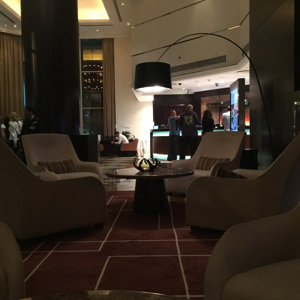 Photo taken at Towers Rotana Hotel by Thamer A. on 6/11/2015