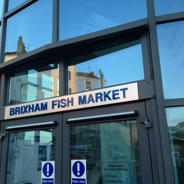 Brixham fish market for Boston fish market chicago