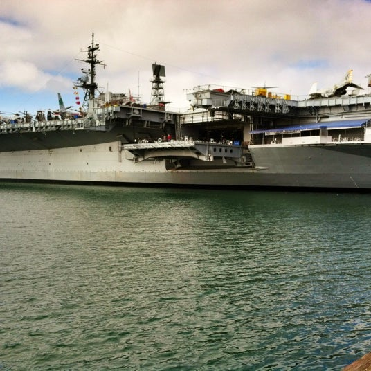 Photo taken at USS Midway Museum by Savannah G. on 12/2/2012