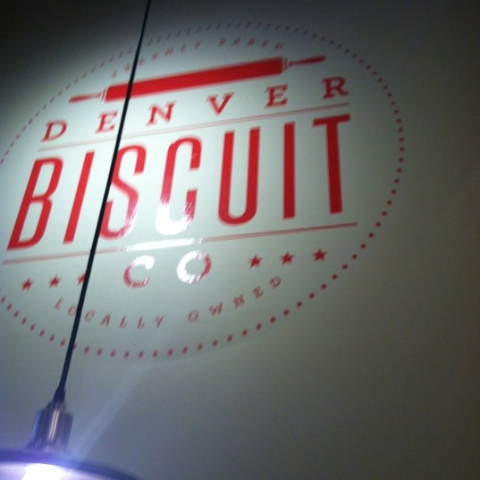 Photo taken at Denver Biscuit Company by matthew p. on 9/30/2012