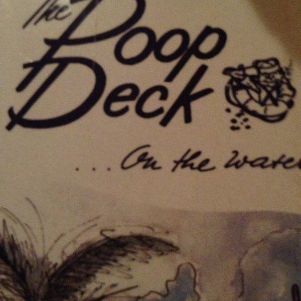 Photo taken at The Poop Deck by Gabrielle B. on 1/24/2013