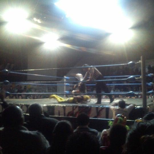 Photo taken at Arena Adolfo Lopez Mateos by Fer C. on 1/2/2013