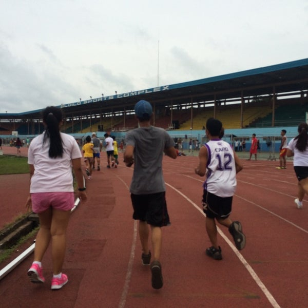 Photo taken at Iloilo Sports Complex by Jagspeed on 8/4/2014