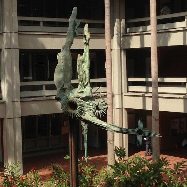 Photo taken at Universidad de Antioquia by Sebastian Q. on 5/10/2013