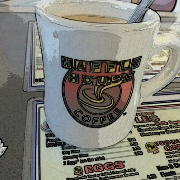 Photo taken at Waffle House by Val C. on 8/10/2013
