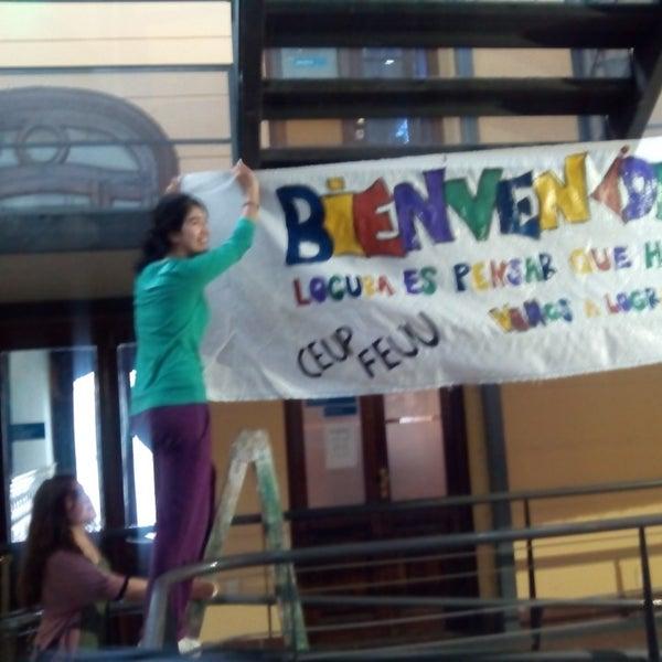 Foto tomada en Facultad de Psicología - Udelar por Paribanu F. el 3/10/2014