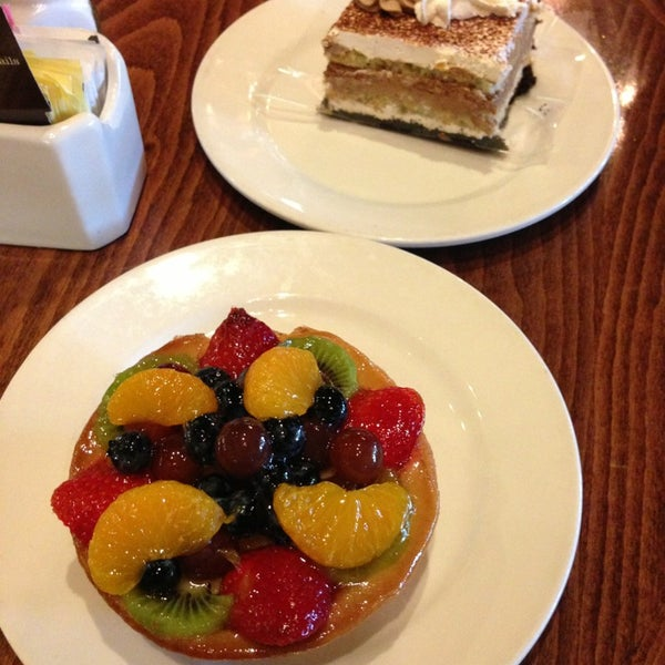 Photo taken at La Madeleine Country French Café by Shirley Y. on 7/7/2013