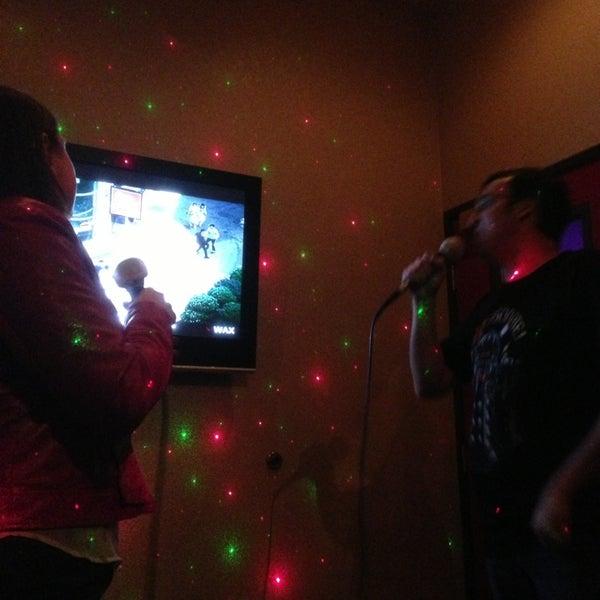 Photo taken at Chorus Karaoke and Cafe by Justin M. on 1/20/2013