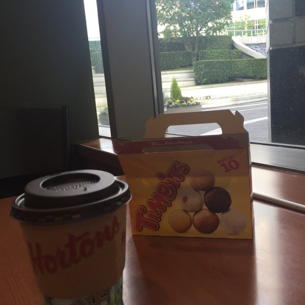 Photo taken at Tim Hortons by Hanadi A. on 6/17/2015
