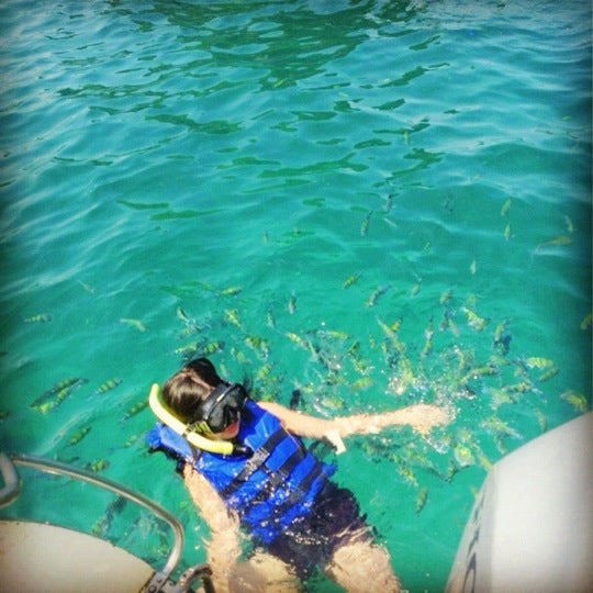 Photo taken at Phi Phi Island by Annie L. on 11/17/2012
