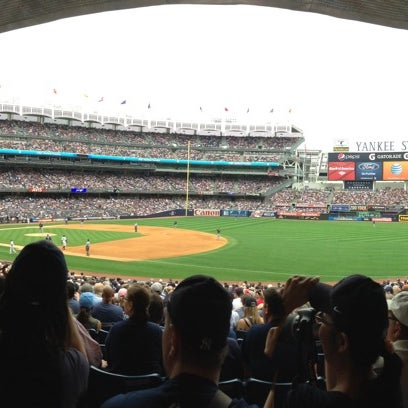 Photo taken at Yankee Stadium by Andrew L. on 7/28/2013