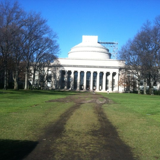 Photo taken at Massachusetts Institute of Technology (MIT) by Nathan V. on 12/15/2012