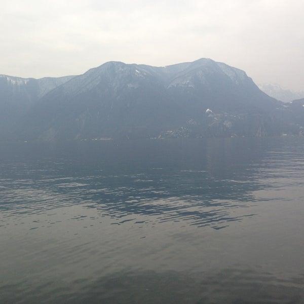 Photo taken at Lago di Lugano by Maya I. on 3/23/2013