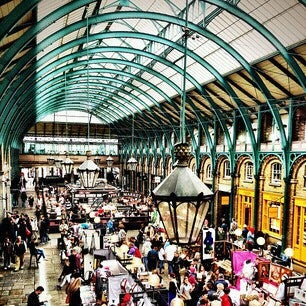 Photo taken at Covent Garden Market by Lizzy L. on 10/3/2013