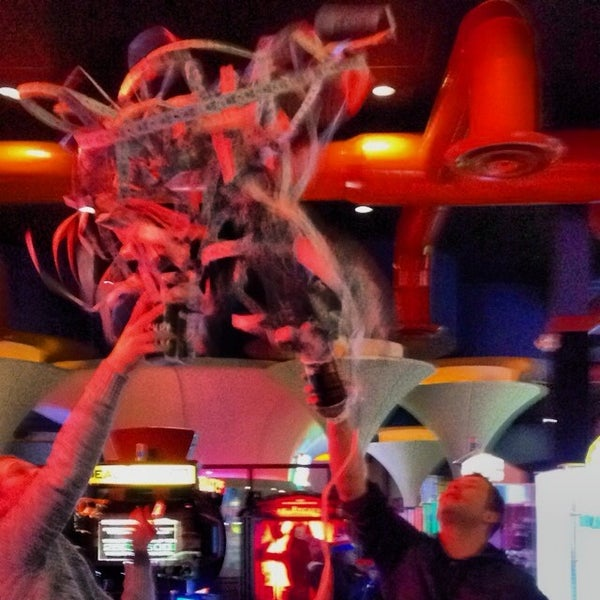Photo taken at Dave & Buster's by Brit S. on 2/1/2014