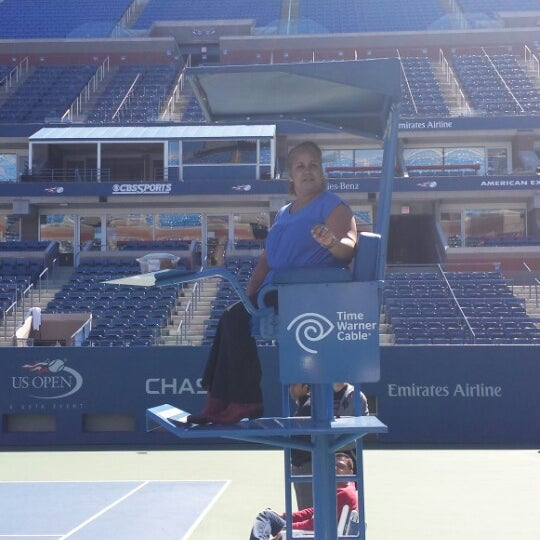 Photo taken at 2013 US Open Tennis Championships by Aida G. on 9/23/2013