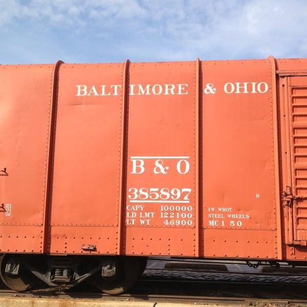 Photo taken at B & O Railroad Museum by Vicki R. on 1/29/2013