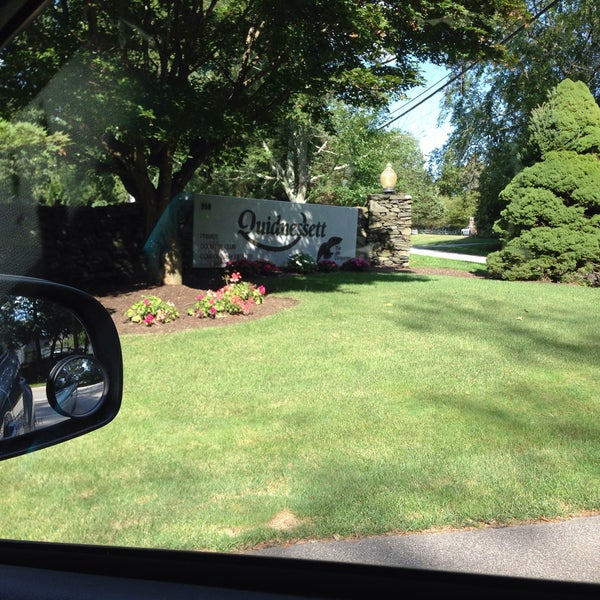 Photo taken at Quidnessett Country Club by Luke T R. on 8/12/2015
