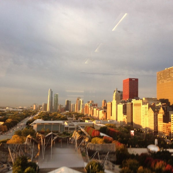 Photo taken at Aon Center by Tara B. on 10/9/2014