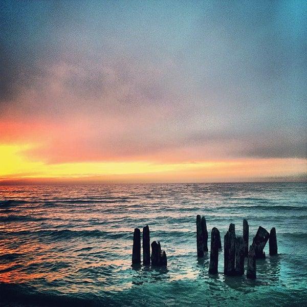 Photo taken at Silver Beach by Chris B. on 1/15/2013