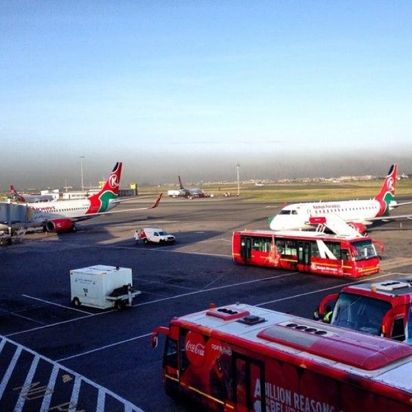 Photo taken at Jomo Kenyatta International Airport (NBO) by Jamal A. on 5/27/2013