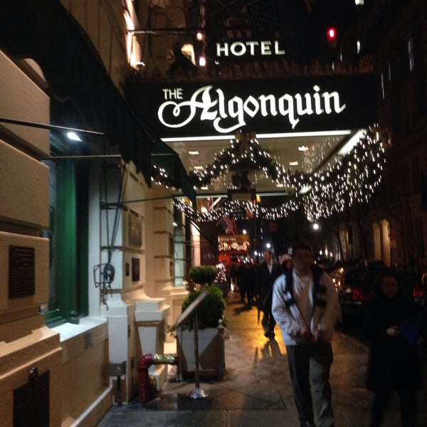 Photo taken at Algonquin Hotel Times Square, Autograph Collection by Karen B. on 12/23/2013