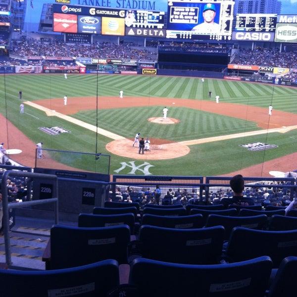 Photo taken at Yankee Stadium by Adie on 7/11/2013