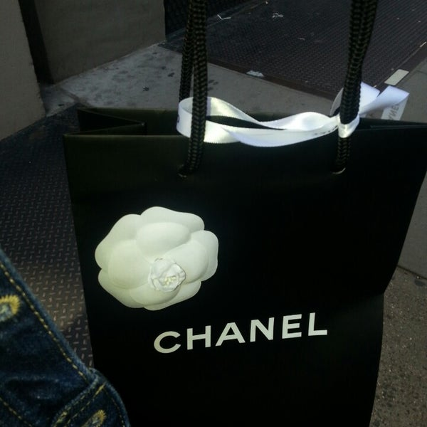 Photo taken at CHANEL Boutique by Deemz G. on 5/12/2013