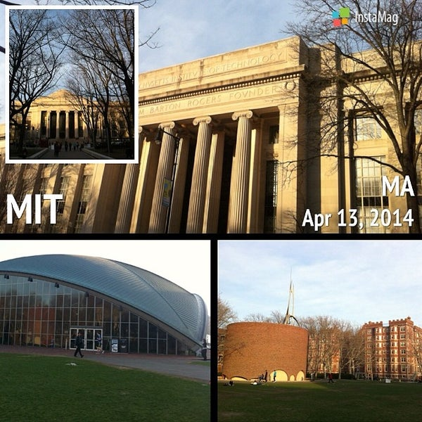 Photo taken at Massachusetts Institute of Technology (MIT) by Suchinda T. on 4/12/2014