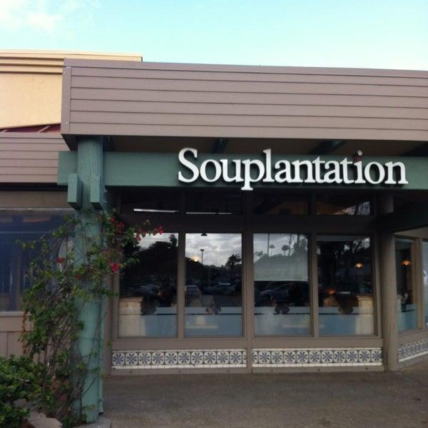 Foto de Souplantation - San Diego, CA, Estados Unidos. Foto de Souplantation - San Diego, CA, Estados Unidos. Pergunte à comunidade. Os usuários do Yelp ainda não fizeram perguntas sobre Souplantation. Faça uma pergunta. Avaliações recomendadas de Souplantation.