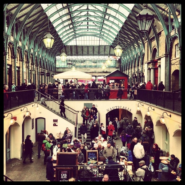 Photo taken at Covent Garden Market by Pauli X. on 3/23/2013