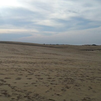 Photo taken at Jockey's Ridge State Park by Allan R. on 1/13/2013