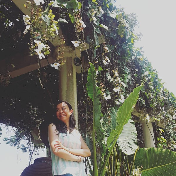 Photo taken at Gua Maria Kerep by bee t. on 9/4/2016