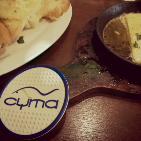 Photo taken at Cyma by Valeen V. on 2/18/2013