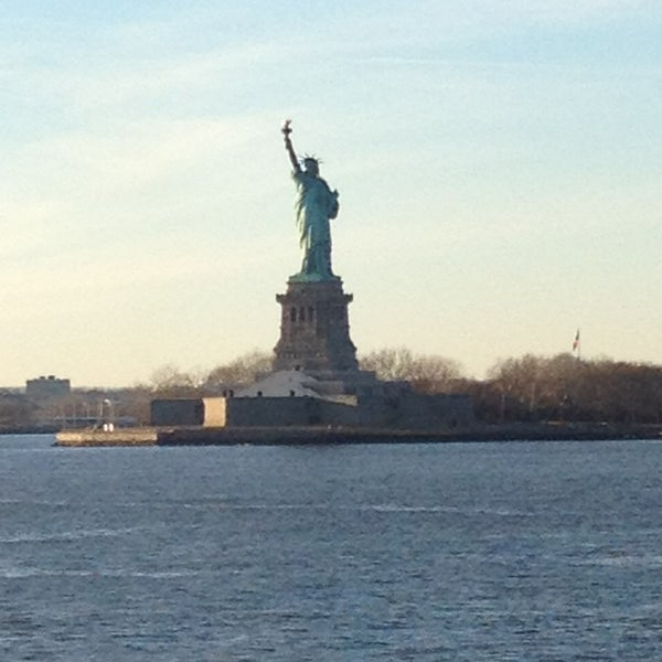 Photo taken at New York Harbor by Manuel L. on 1/18/2013