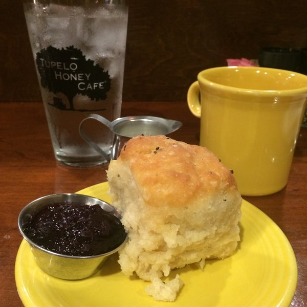 Photo taken at Tupelo Honey Cafe by Bridget A. on 6/26/2014