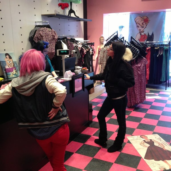 bettie page clothing store now closed back bay east