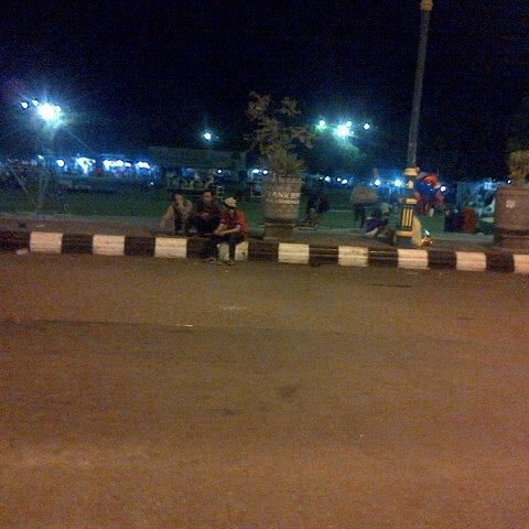 Photo taken at Alun - Alun Sragen by Susan T. on 12/25/2013