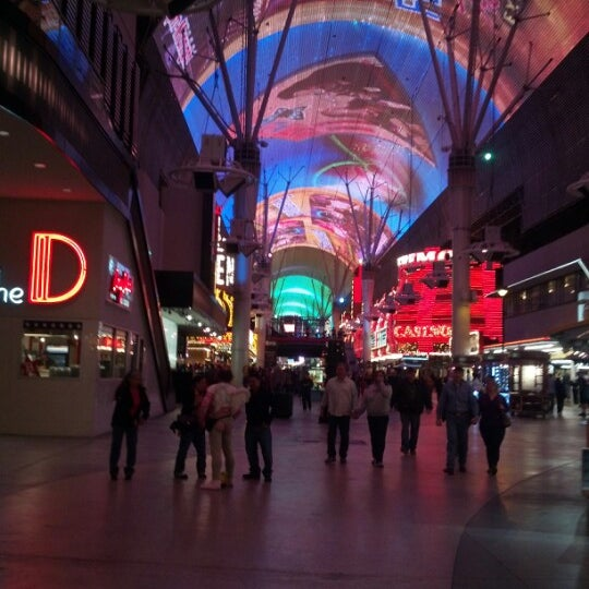 Photo taken at Downtown Las Vegas by Eric C. on 2/15/2013