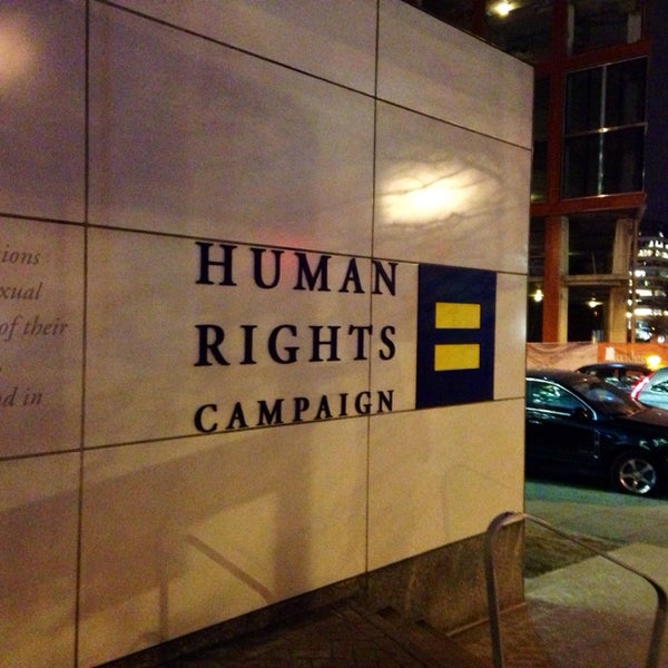 Photo taken at Human Rights Campaign by Chris S. on 1/29/2014
